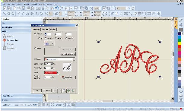 Monogramy - Editor Plus