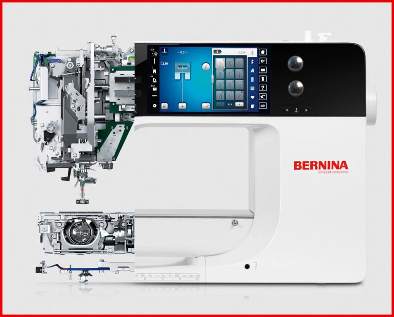 BERNINA - Solidna konstrukcja
