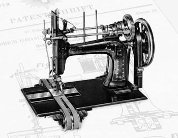 Karl Friedrich Gegauf - maszyna z dolnym chwytaczem