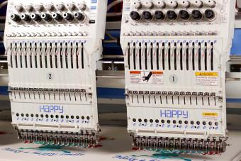 HAPPY HCR2 - Wielogłowicowe maszyny do haftu komputerowego
