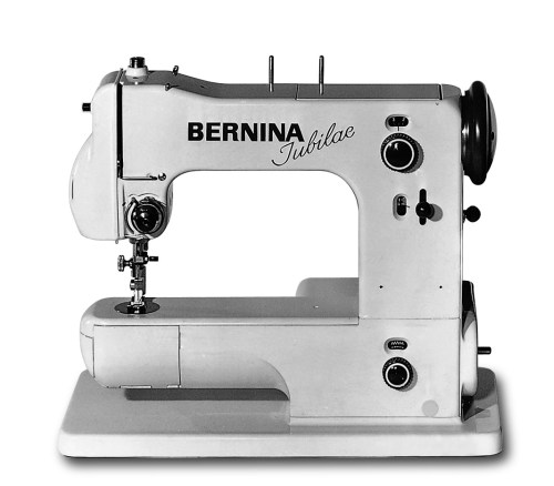 Maszyna do szycia BERNINA 125 - Pierwsza elektryczna maszyna ZygZak