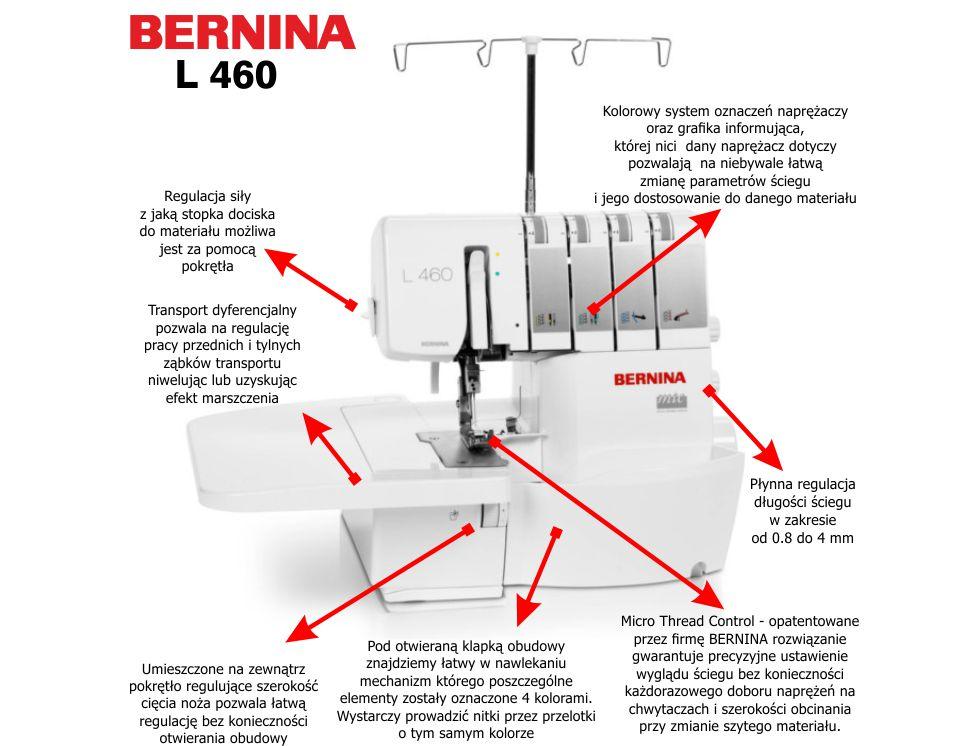 BERNINA L-460
