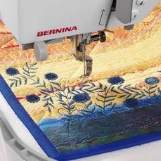 Hafciarka komputerowa BERNINA Aurora 430 - haftowanie