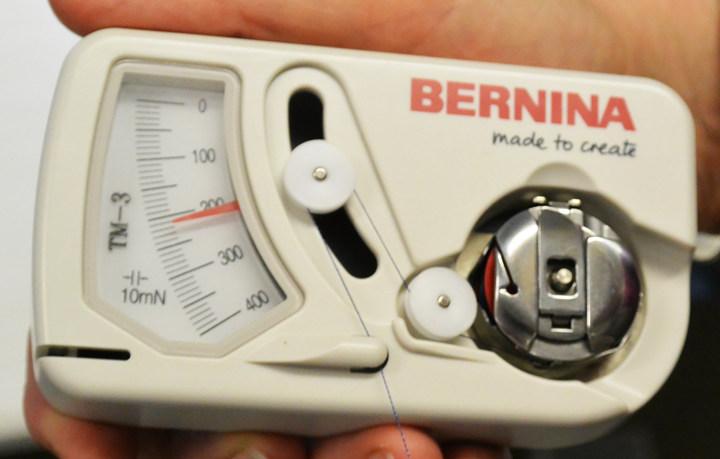 BERNINA Longarm - Przyrząd do mierzenia naprężenia nici