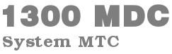 Profesjonalny owerlok BERNINA 1300 MDC z systemem MTC