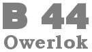 Owerlok 4-nitkowy BERNINA bernette funlock B44