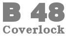 Coverlock 5-nitkowy - BERNINA bernette B48 - Owerlok + renderka