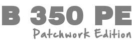 Maszyna do szycia patchworku - BERNINA B350 PE