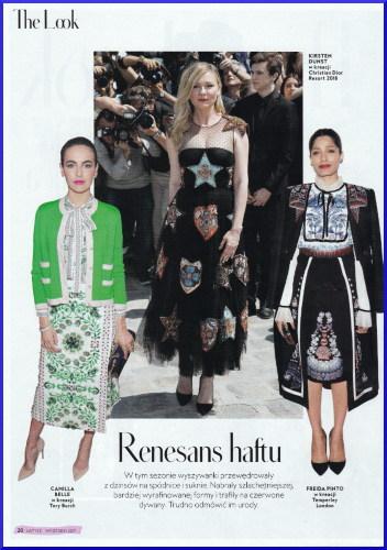 Renesans haftu w modzie