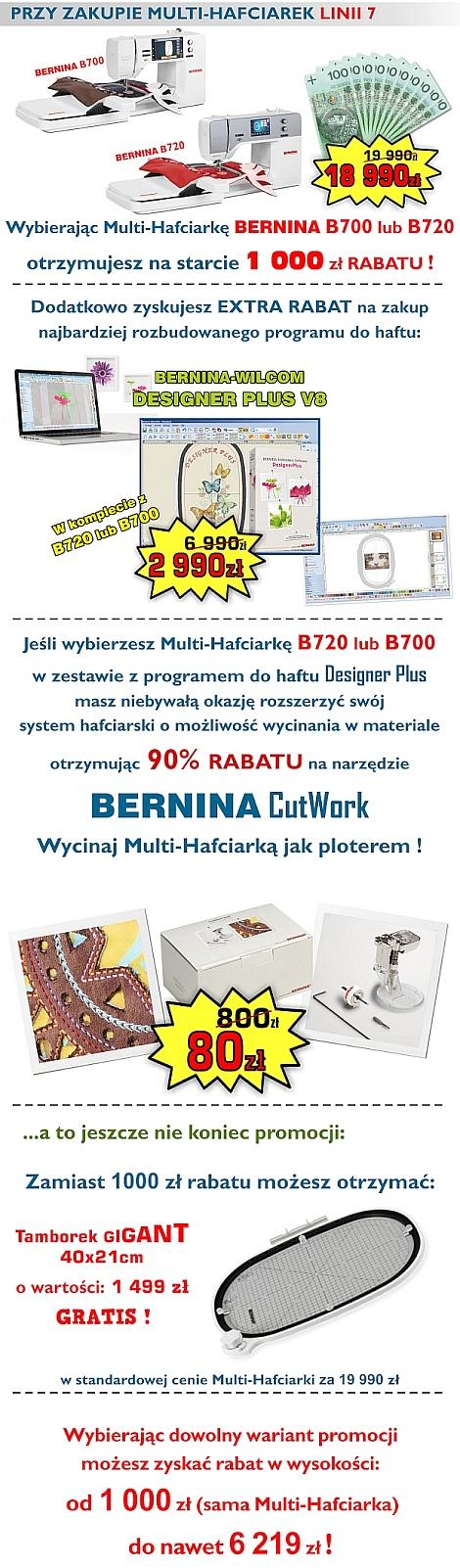 Multi-Hafciarki BERNINA - PROMOCJE !